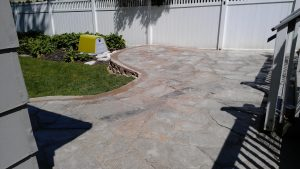 Raised patio #4